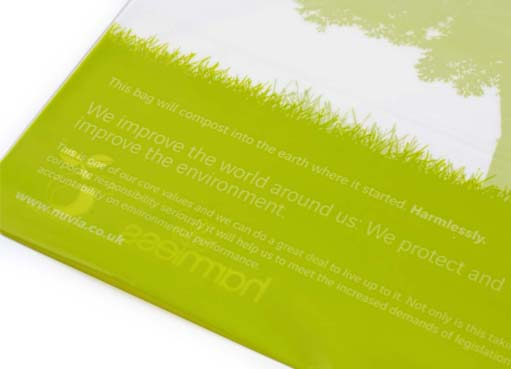 Nuvia using Harmless Compost mailers